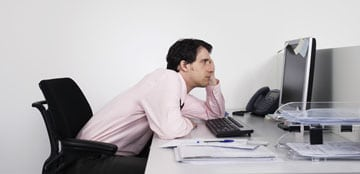 Don't be like this guy! Take a break when you're getting tired.